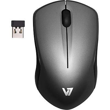 V7® Wireless Mobile Blue Trace Mouse