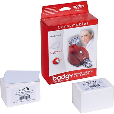 Evolis VBDG102EU Badgy PVC Card