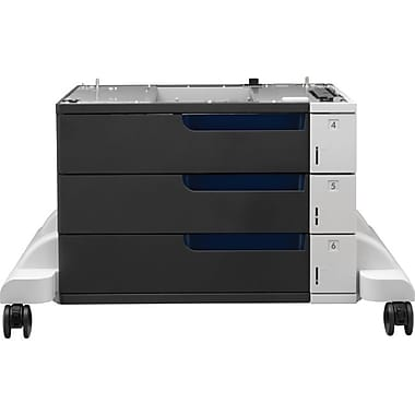 HP ® CE725A 3 x 500 Sheets Paper Feeder with Stand for LaserJet Enterprise CP5520 Series Printer