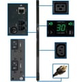 Tripp Lite® PDUMNV30HV2 Single-Phase Monitored Power Distribution Unit, 208V Input/240V Output