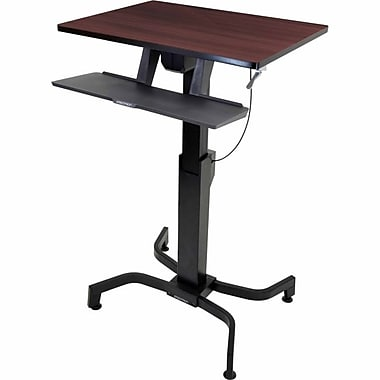 Ergotron® 24-280-927 WorkFit-PD Sit-Stand Desk