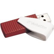 Verbatim® Store 'n' Go® Swivel 16GB USB 2.0 Flash Drive, Red