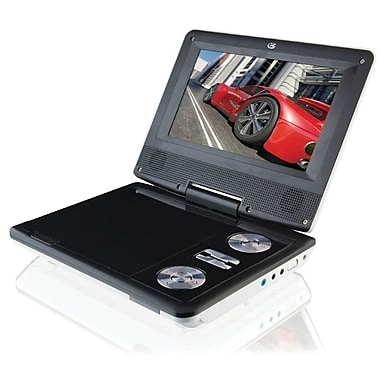 GPX® PD701W 7in. Display Portable DVD Player, White