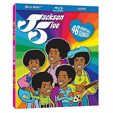 Jackson 5ive - Complete Animated Series (BLU-RAY DISC)