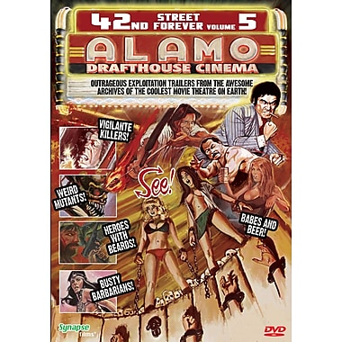 42nd Street Forever: Volume 5: Alamo Drafthouse Cinema (DVD)