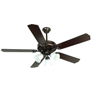 Craftmade 52'' CD Unipack 205 5 Blade Ceiling Fan; Brushed Nickel