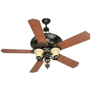 Craftmade 52'' Chamberlain 5 Blade Ceiling Fan with Remote Control
