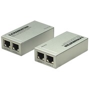 Manhattan™ 177269 196' HDMI Cat5e/Cat6 Extender, Silver
