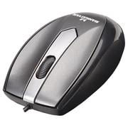 Manhattan™ MO1 Optical Mini Mouse, Metallic Gray