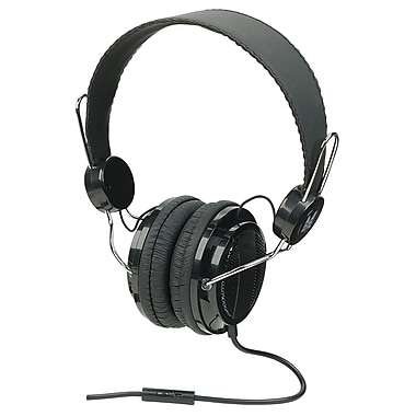 Manhattan™ 178044 Elite Stereo Headset, Black/Silver