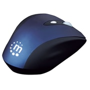 Manhattan™ Contour Optical Wireless Mouse, Black/Blue