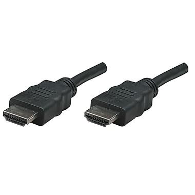 Manhattan™ 308434 50' High Speed HDMI Cable, Black