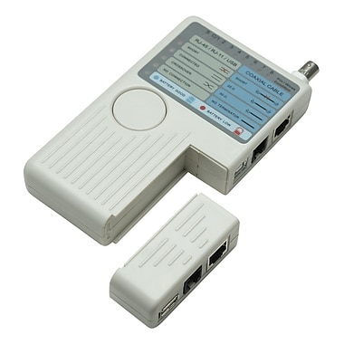 Intellinet™ 351911 4-in-1 Cable Tester, Beige