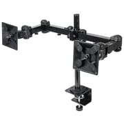 Manhattan™ 420808 Mount With Double-Link Swing Arms For LCD Monitor Up To 31 lbs., Black