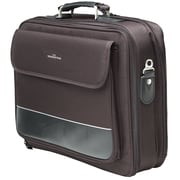 "Manhattan™ 15.6"" Empire II Notebook Computer Briefcase, Black"