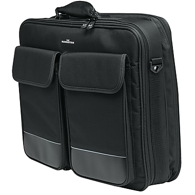 Manhattan™ 17in. Big Apple Notebook Computer Briefcase, Black
