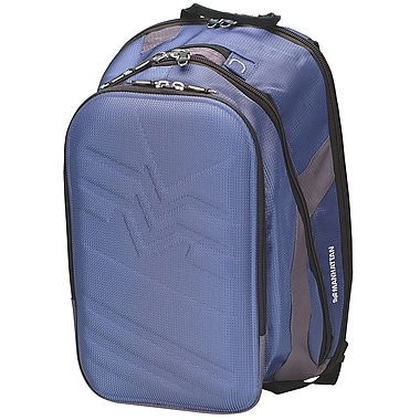 Manhattan™ 439473 Olympian Notebook Computer Sportpack, Blue/Gray