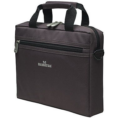 Manhattan™ Copenhagen 10in. Netbook Computer Briefcase, Dark Gray