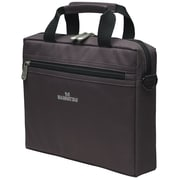 "Manhattan™ Copenhagen 10"" Netbook Computer Briefcase, Dark Gray"