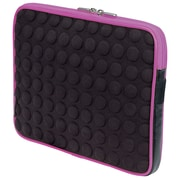 "Manhattan 439602 EVA Bubble Case for 10.1"" Universal iPad, Black/Pink"