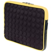"Manhattan 439619 EVA Bubble Case for 10.1"" Universal iPad, Black/Yellow"
