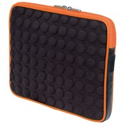 "Manhattan 439633 EVA Bubble Case for 10.1"" Universal iPad, Black/Orange"