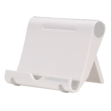 Manhattan™ Portable Tablet Stand, White