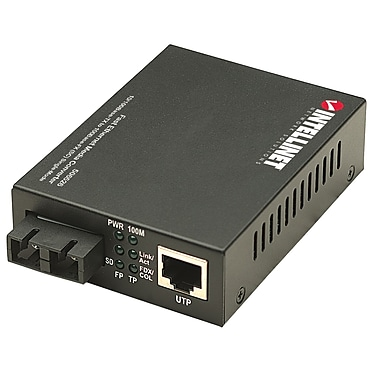 Intellinet™ 506526 40km Fast Ethernet Media Converter