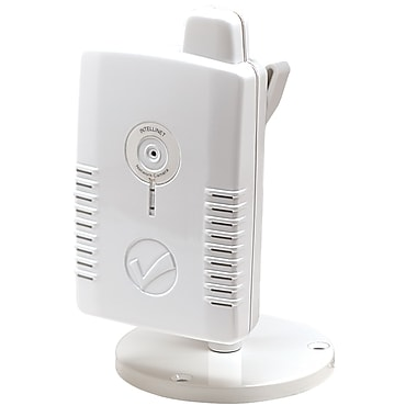 Intellinet™ NSC11-WN White Network Camera, 1/6in. CMOS Sensor