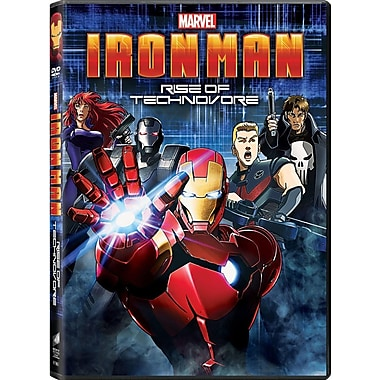 Iron Man: Rise of the Technovore (DVD + UltraV/DGTL Copy)