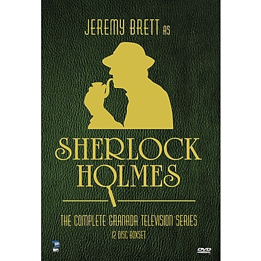Jeremy Brett as Sherlock Holmes: The Complete Granada Television Series (DVD)