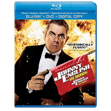 Johnny English Reborn (BRD + DVD + Digital Copy)