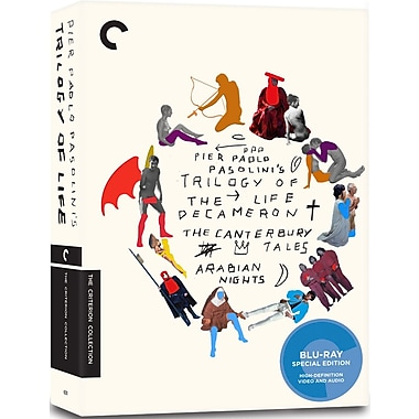 Pier Paolo Pasolini's Trilogy of Life (BLU-RAY DISC)