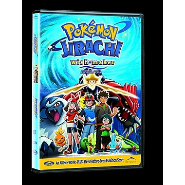 Pokémon 6: Jirachi Wish Maker (DVD)