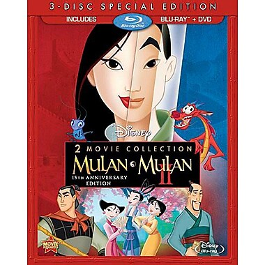 Mulan 2 Movie Collection (BRD + DVD)