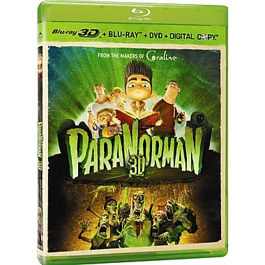 Paranorman 3D (3D BRD + BRD + DVD + Digital Copy)