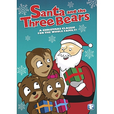 Santa & The Three Bears (DVD)