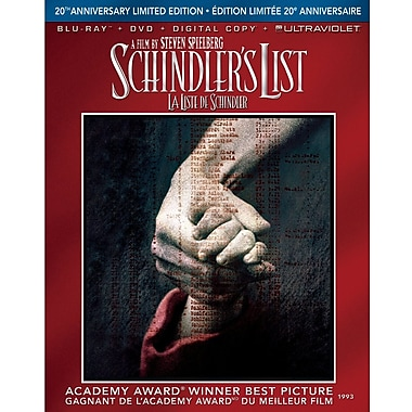 Schindler's List 20th Anniversary Limited Edition (BRD+DVD+DGTL Copy+UltraV)
