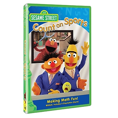 Sesame Street: Count on Sports (DVD)