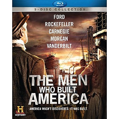 Men Who Built America (DISQUE BLU-RAY)