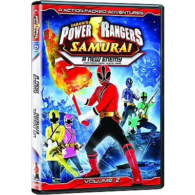 Power Rangers Samurai Volume 2 (DVD)
