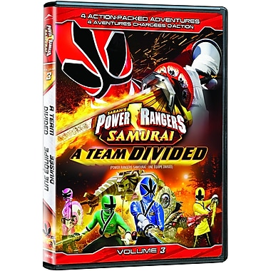 Power Rangers Samurai: A Team Divided Volume 3 (DVD)