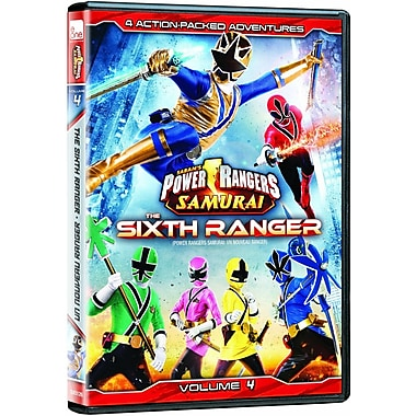 Power Rangers Samurai: The Sixth Ranger Volume 4 (DVD)