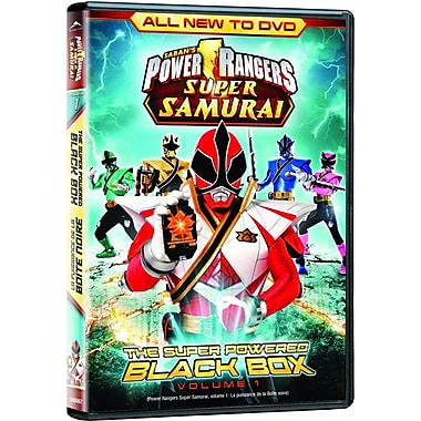 Power Rangers Super Samurai: Secret of the Black Box Volume 1 (DVD)