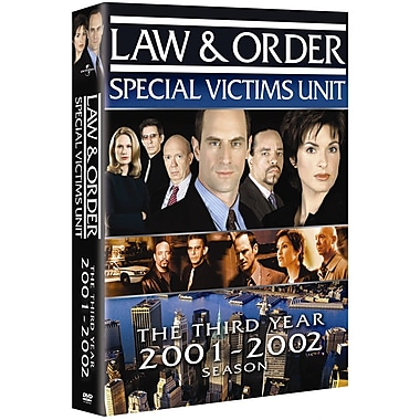 Law & Order: Special Victims Unit: Season 3 (DVD)