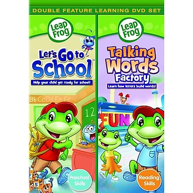 Leapfrog: Let's Go To School/Talking Words Factory (DVD)