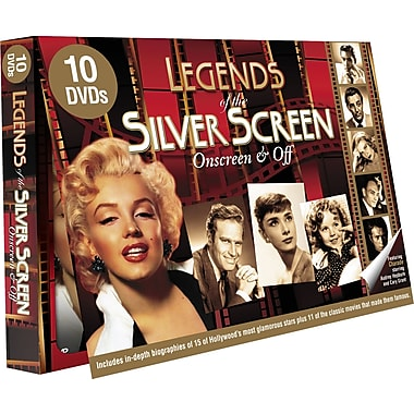 Legends of the Silver Screen: The Biographies Collection