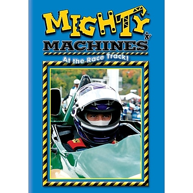 Mighty Machines: At The Race Track (DVD)