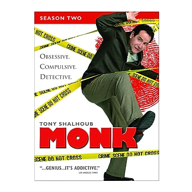 Monk Season 2 (DVD)