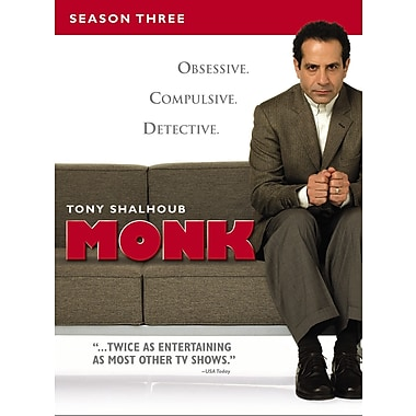 Monk Season 3 (DVD)